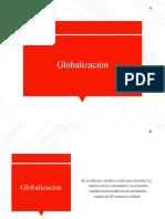 Introducción a la Globalización