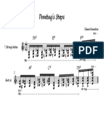 Dimebag's Steps - Partitura completa