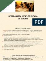 DEBARASAREA MESELOR ppt