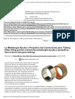 La importancia de la metalurgia y como se utiliza la tecnología Parker Suparcase. Blogs de Tecnología en Control y Movimiento _ Parker México