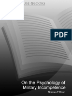 book On The Psychology Of Military Incompetence (Pimlico) - Dixon, Norman F.pdf