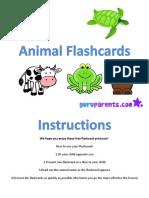 animal-flashcards