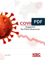 COVID-19 Suggested Tax Policy Responses_KBC Publication_May 2020