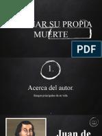 EL AMAR SU PROPIA MUERTE