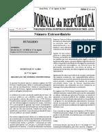 Organic Law 8 Government SERIE_I_NO_32_B_Lei