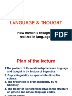 LANGUAGE & THOUGHT 20.12.17