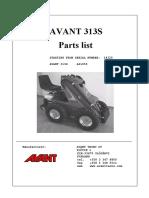 313S part list