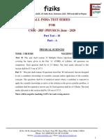 10. Net Part Test - 10_Part-A