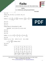 6. Net Part Test - 06_Electronics_Solution