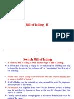 Bill of lading II.ppt