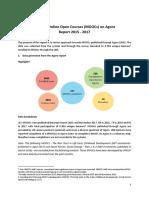 MOOC Report