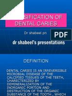 classificationofdentalcaries