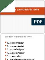 Cours 3 Le Verbe