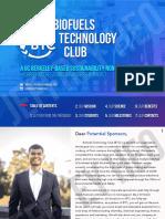 Biofuels Technology Club Partnership Packet
