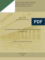 AVALIAÇÃO DE DISTURBIOS HARMINICOS EM INDUSTRIA