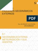 SESION 6 - Procesos Geodinamicos Externos