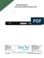 OPERATION MANUAL DAC-2202 ANTENNA CONTROL UNIT