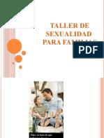 TALLER DE SEXUALIDAD PARA FAMILIAS 2016