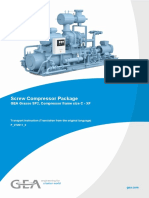 GEA Grasso SP2, Compressor frame size C - XF