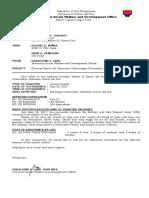 Incident Report (sample)