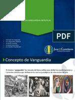 LAS VANGUARDIAS ARTÍSTICAS.pptx