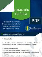 FORMACIÓN ESTÉTICA- Semana 12 2.pptx