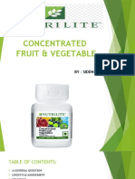NUTRILITE CONCENTRATED FRUIT AND VEGETABLES.pptx
