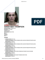 Sarah May Thompson_mugshot Case 42 2020 Cf 000516 Cfaxxx