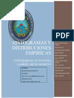 HISTOGRAMAS Y DISTRIBUCIONES EMPIRICAS INFORME