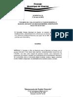 Acuerdo N° 04 del 2016