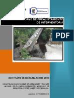 INFORME DE PRESAISTAMIENTO PARA UNA CONSTRUCCIÓN VERTICAL