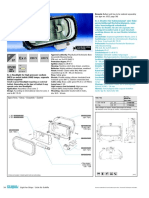 Ex n Floodlight for High Pressure Sodium (HPS) or Metal Halide (MH) Lamps, Separate Ballast Required S054