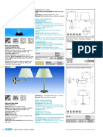 Wall and Table Light S082