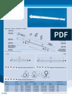 Waterpressuretight luminaire 0673