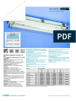 Watertight Multipurpose Luminaire, Sur- Face S026_027