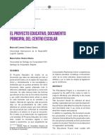 Dialnet-ElProyectoEducativoDocumentoPrincipalDelCentroEsco-6523253