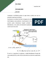 Microsoft Word - Proiect - etapa a II-a Regimul elastic cu acvifer activ