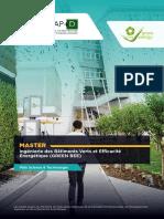 Brochure - Formation Master Green BEE