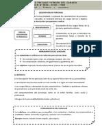 DESCRIPCIÓN DE PERSONAS I