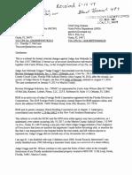 Request for Prosecution Judge Ann Melinda Craggs Et Al Received MCSO SW Substation