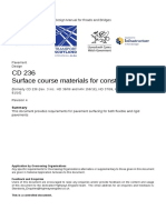 CD 236 revision 4 Surface course materials for construction-web