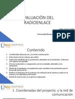 EVALUACIÓN DEL RADIOENLACE (Xirio)