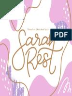 Manual de Identidad Visual SarahRest