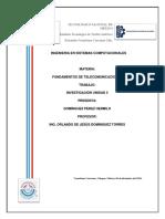 Unidad 5 Fundamentos De Telecomunicaciones