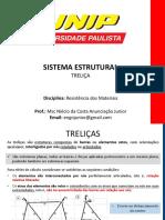 5 - TRELIÇA - RESISTÊNCIA DE MATERIAIS