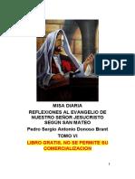 REFLEXION MISA DIARIA MATEO VI Donoso
