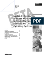 Configuring Windows Xp Professional For Networks Running Novell Netware And Unix Operating Systems