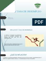INFLACION Y TASA DE DESEMPLEO 2