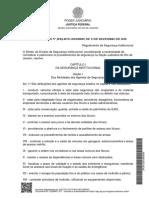 Regulamento trabalho TRF2
