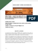 ENCUENTRO JOSÉ HIDROBO FORMATO Y RIDER TECNICO